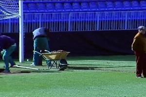 Málaga ma problemy z murawą na La Rosaleda