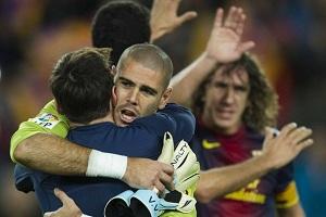 Messi: Valdés jest najlepszym bramkarzem w historii Barçy