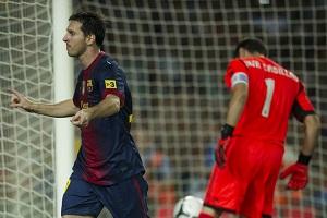Leo Messi zmierza po kolejny rekord
