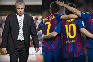 Dziewięć zwycięstw Barçy przeciwko Aguirre