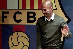 Pep Guardiola: Lata w Barcelonie