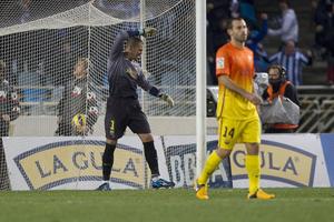 Valdés bez wpływu na wynik spotkania