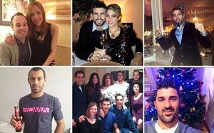 Barça świętuje Nowy Rok
