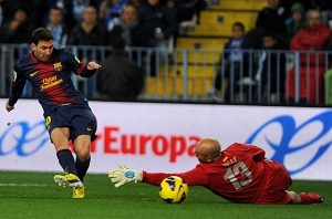 Messi – 9 meczów z rzędu z bramką