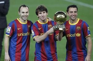 Messi zaprezentuje Złotą Piłkę w środę