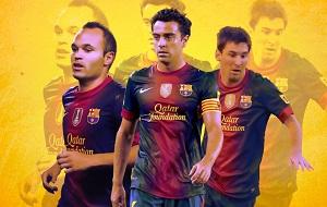 Trzech piłkarzy Barçy w TOP3  Najlepszych Rozgrywających