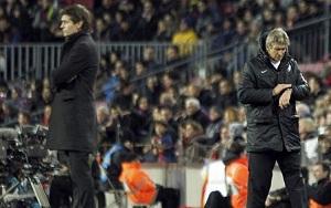 Pellegrini: W drugiej połowie byliśmy lepsi od Barçy