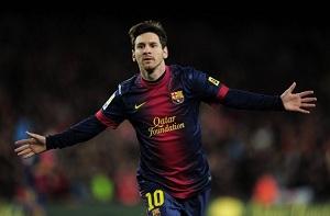 Rekord stycznia dla Messiego