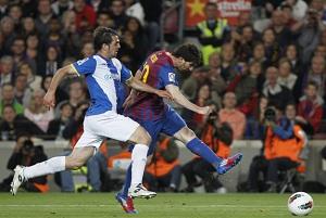 Leo Messi – rekordowy strzelec w derbach
