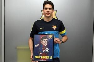 Bartra dołącza do rodziny Barça Toons