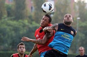Dani Alves i Adriano w TOP15 Brazylijczyków w Europie