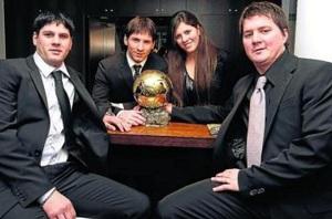 Rodrigo Messi: Leo w wieku 13 lat chciał wygrać Złotą Piłkę