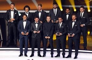 Pięciu zawodników FC Barcelony w XI FIFA FIFPro