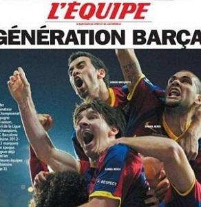 """L""""Équipe nazywa Barçę """"drużyną epoki"""""""