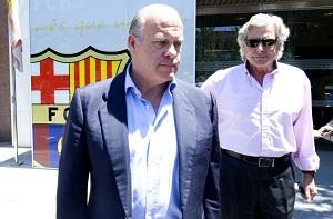 Spotkanie Barçy i przedstawicieli Valdésa