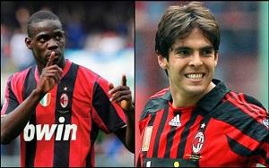 Kaká i Balotelli przeciwko Barçy?