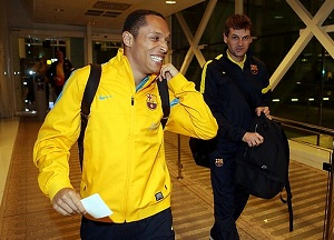 Piłkarze są już w San Sebastián
