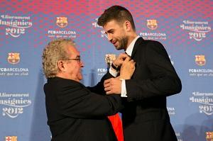 Bernabéu: Syn Piqué i Shakiry jest uroczym, czarnowłosym bobasem