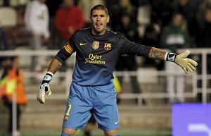 Camp Nou przeciwko Víctorowi Valdésowi?