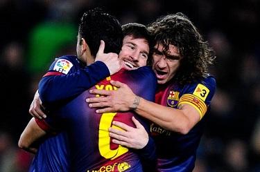 Messi show: FC Barcelona 5-1 Osasuna