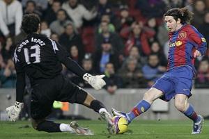 Messi – koszmar Diego Lópeza