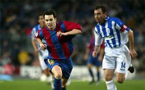 10 lat od debiutu Iniesty na Camp Nou