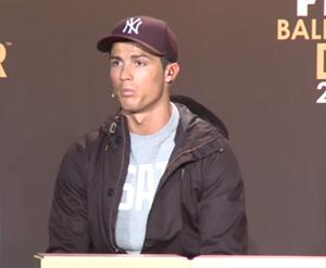 Cristiano: Zaszczytem jest być tutaj z Iniestą i Messim