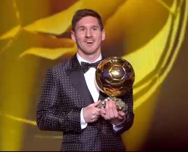 Czwarta Złota Piłka FIFA dla Leo Messiego!