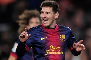 Messi ma udział w 400 golach FC Barcelony