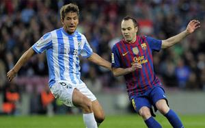 Barça zawsze wygrywała z Málagą w Copa del Rey