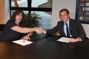 Carles Puyol przedłużył kontrakt
