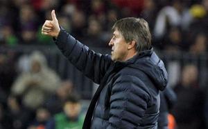 Roura: Najważniejsze było zwycięstwo przed meczem z Madrytem