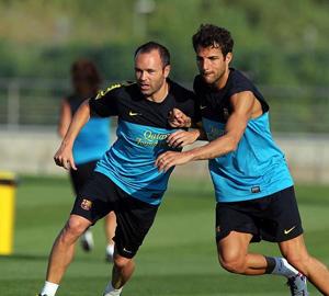 Iniesta, Cesc i Alba wypoczęci na Madryt