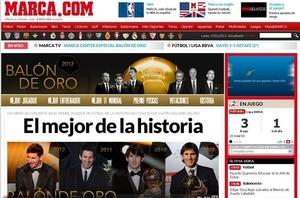 Prasa na temat kolejnej Złotej Piłki dla Messiego