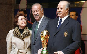 Del Bosque: Mam nadzieję, że Villa szybko wróci