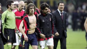 Carles Puyol stałym punktem w pojedynkach z Milanem