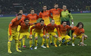 Jedenastka Barcelony w sezonie 2012/2013
