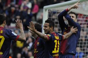 1, 2, 3, 4, 5 i 6 bramek Barcelony w 2013 roku