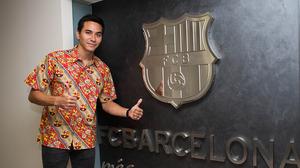 Darius Sinathrya – nowy, honorowy członek FC Barcelony w Indonezji