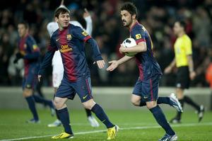 "Villa i Messi ""odśnieżyli"" Sevillę"