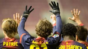 Barça B wygrywa, Muniesa wraca do gry