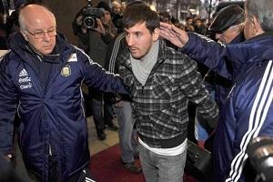 Messi jest już w Szwecji