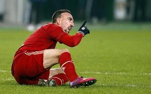 Ribery: Bayern nie jest gorszy od Barçy