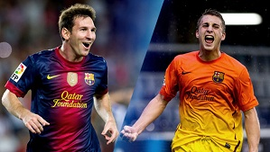 Messi i Deulofeu: Najlepsi ligowi strzelcy
