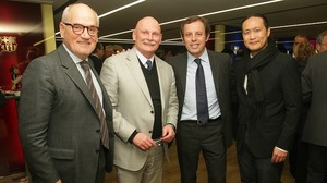 Camp Nou zapełnione znanymi osobistościami