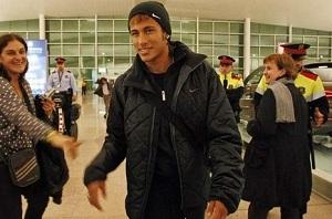 Neymar w lipcu na Camp Nou