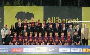 FC Barcelona na turnieju w Rosji