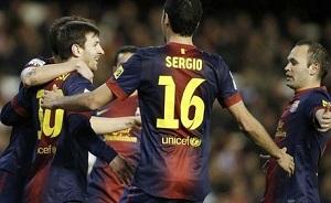 Barça trafia regularnie od roku