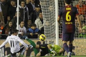 Crack meczu Valencia-Barça