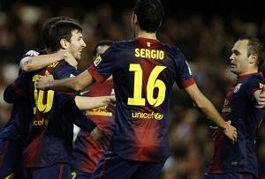 Barcelona bije kolejny rekord i prowadzi w rankingu